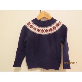 Sweater Tejido A Mano Para Varón T2