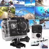 Cámara Action Cam 4k Ultra Hd Waterproof 30 M Wifi