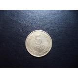 Moneda Chilena 5 Pesos 1984