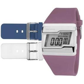 Relógio Mormaii Digital Esportivo Troca Pulseiras Fzu/8c