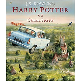 Livro Harry Potter E A Câmara Secreta - Ilustrado