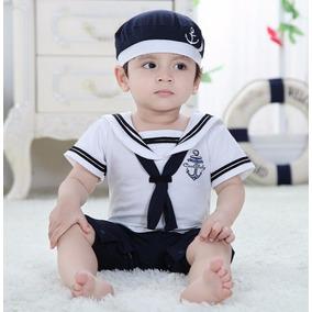 Roupa - Macacão Marinheiro - Bebês
