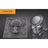 Depredador 3d - Vectores De Corte Cnc - Predator Head
