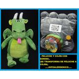 Peluches Cojines Con Sonido Grandes Dragon, Unicornio, Vaca