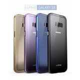 Case Protector Premium Aluminio + Cristal Galaxy S8 S8plus