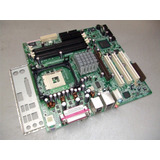 Placa Madre Intel 865 Sata Con Procesador Pentium 4 3,00ghz