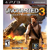 Digital Ps3 Uncharted 3 - Español - Drake Deception