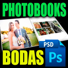 Plantillas Libro Digital Photobook En Photoshop Boda Wedding