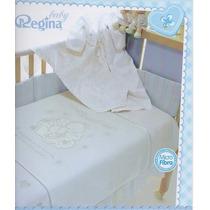Cobertor Cunero Mi Bautizo Regina
