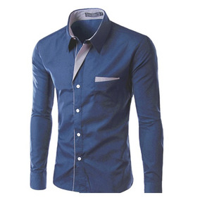 Camisa Social Masculina Slim Fit Luxo Promoção Limitada