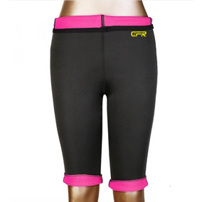 Termo Slim Pantalones Leggins De Sudor Las... (3xl, Pink)