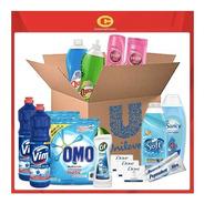 Caja Limpieza Unilever Y Concurso