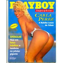 Revista Playboy Super Poster Carla Perez
