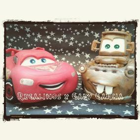 Cars Rayo Y Mate En Porcelana Fria