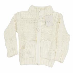 Pullover Sweater Blanco 18 M A 3 Años Fiesta Regalosdemama