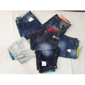 Bermudas Shorts Jeans Masculina De Marca Kit 10 Peças Top