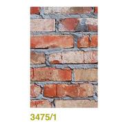 Papel Muresco Vinilizado Zen 3475-1 Ladrillo Rustico