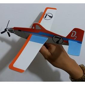 Aviões Avião De Lançar Dusty Isopor Super Liquidação