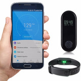 Pulseira Inteligente Bluetoot Aplicativo Android Ios Celular