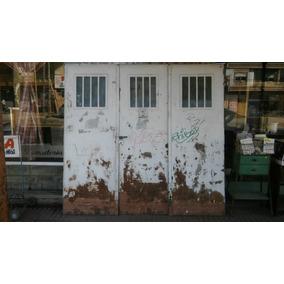 Porton Garaje Tres Hojas Chapa Pesada