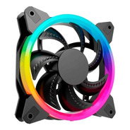 Ocelot Ogf01 - Ventilador 120mm Led Arcoiris Molex 4 Pin