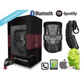 Multimidia Bomber Moto Sound Para Capacete Bluetooth Gps