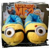 Pantuflas Minions... Las Mejores!! De Micropolar!!