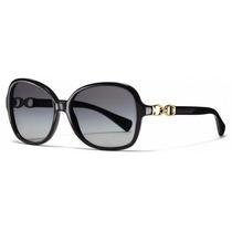 Lentes Gafas Coach Negras Sol Original Hc8123 500211