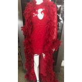 Fantasia Dama Da Noite Luxo Vermelha-1001 Coisas
