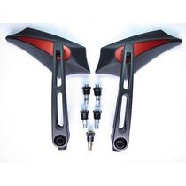Retrovisor Moto Esportivo Z300 Bros Cg Xre Cb300 Fazer Twist