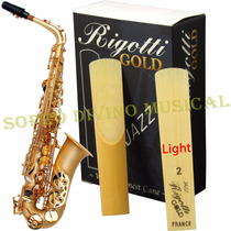 Palheta Rigotti Gold France Sax Alto 2 Light ( Unidade )