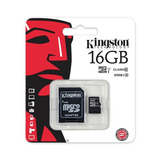 Memoria Micro Sd Clase10 G2 Kingston 16 Gb Sdc10g2 16gb
