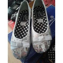 Zapatos Flats Valerinas Lentejuelas Brillantes