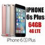 Iphone 6s Plus 64gb 4g 12mp A9 Libre Fabrica Boleta Garatia