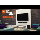 Barra De Sonido Jbl Cinema Sb350 Con Subwoofer Bluetooth