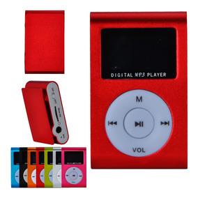 Mp3 Player Clip Fixador Display Fone Cabo Luxo Prático