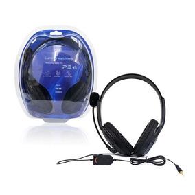 Audifonos Diadema Gamer Ps4 Escucha El Juego Y El Chat