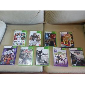 Jogos Xbox 360 Originais Pacote Com 9 R$ 335 Todos