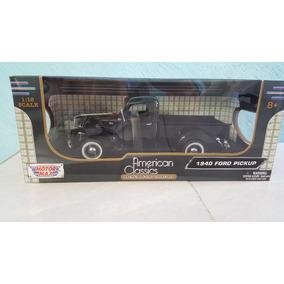 Camioneta For A Escala 1:18 Modelo 1940 Color Negro Collect
