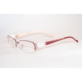 Armação Óculos Feminino Para Perto Pequeno Juvenil Vermelho 1657c0c790