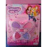 Maquillaje Infantil Mariposa Dream Angel Spa Souvenirs Nenas