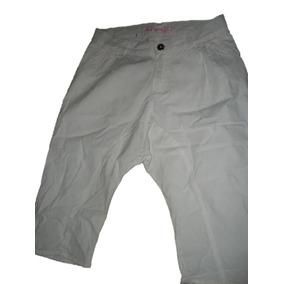 Pantalon Pescador Blanco Pañalero