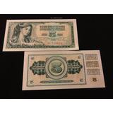 Billete Del Mundo 5 Dinara Yugoslavia 1968 Nuevo