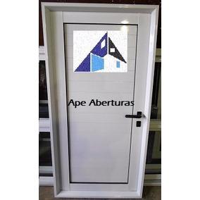La Plata Puerta De Aluminio Ciega 800x2000