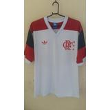 Camisa Retrô Flamengo 1981 Branca