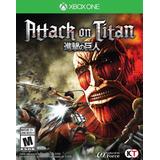 Attack On Titan - Xbox One - Mídia Física, Lacrado