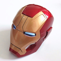 Casco Iron Man Mark 42 Ironman Funcional Avengers Mascara