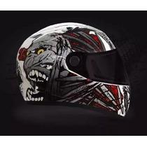 Casco De Moto Integral Helmet Designs Rocket Force Original