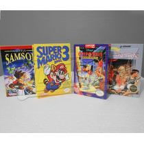Cajas Para Videojuegos Nintendo, Nes, Snes, N64, Atari, Gb