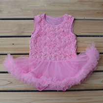 Vestido Bebê Bailarina Lindo 10 Meses Body